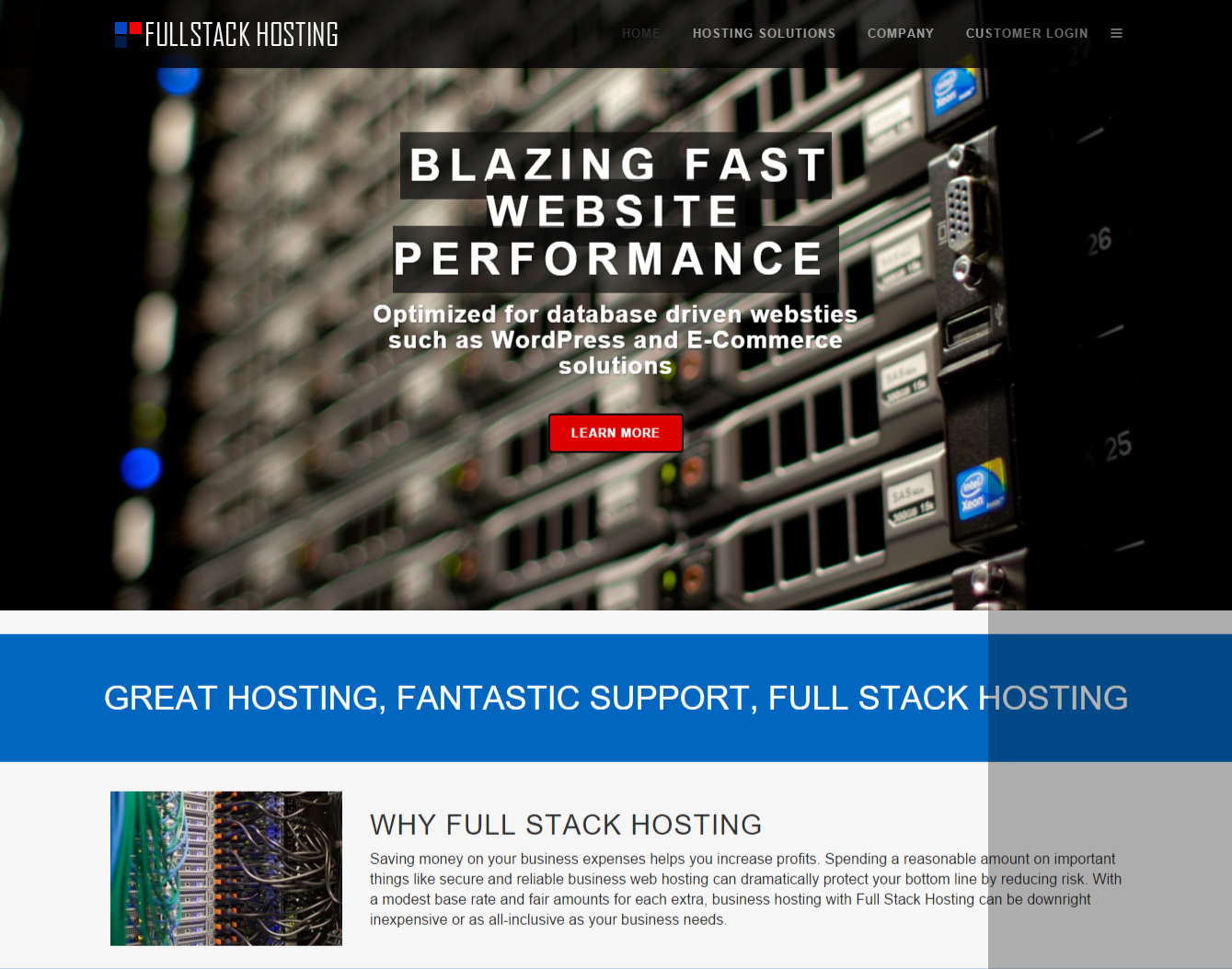 FullStack Hosting   Your Business hosting solutions