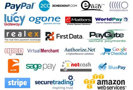 payment gateways tha Invizon Works with