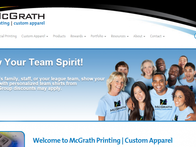McGrath printing